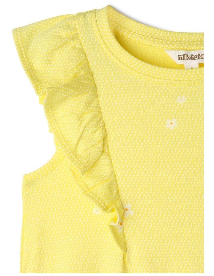A-Line Flutter-Sleeve Dress image 2
