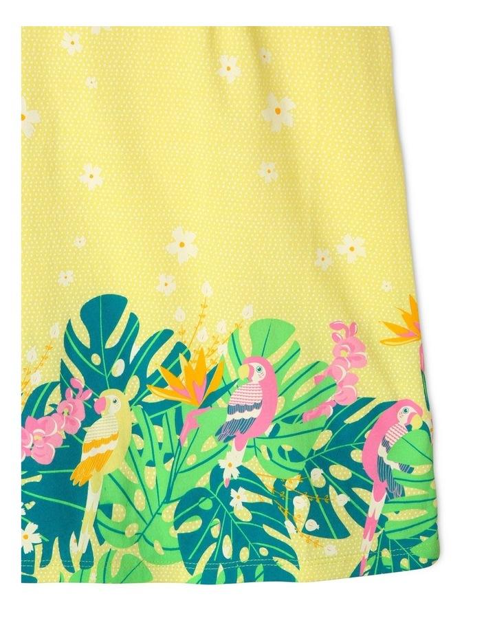 A-Line Flutter-Sleeve Dress image 3