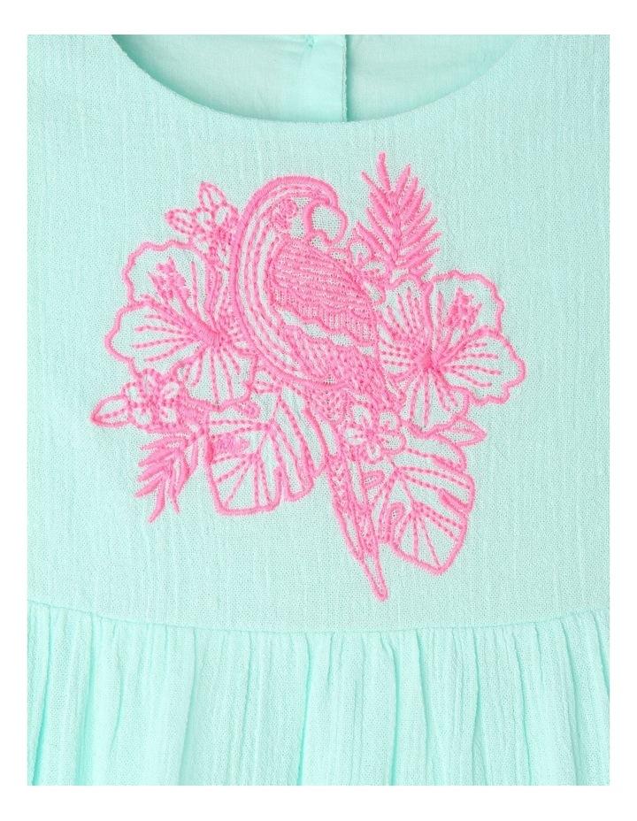 Woven Sleeveless Lace Trim Dress image 3