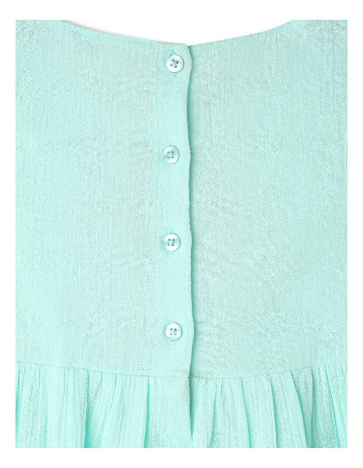 Woven Sleeveless Lace Trim Dress image 4