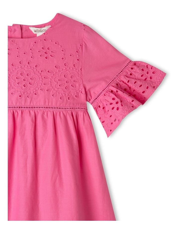 Woven Bell-Sleeve Dress image 2
