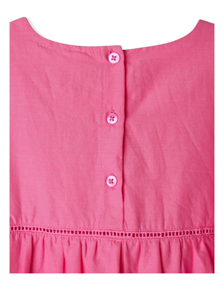 Woven Bell-Sleeve Dress image 4