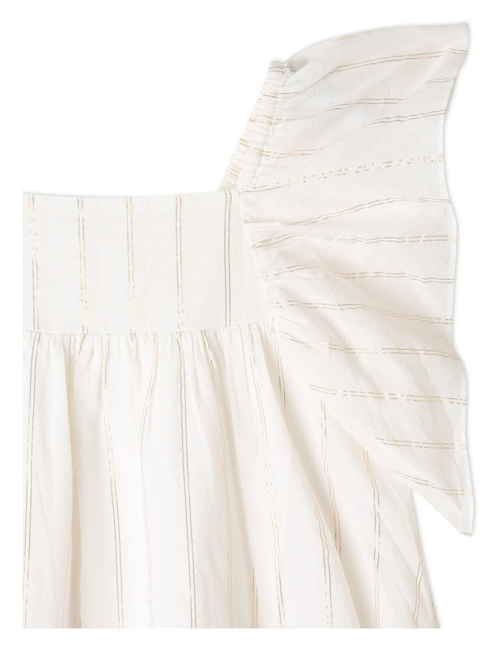 Woven Lurex Stripe Dress image 2