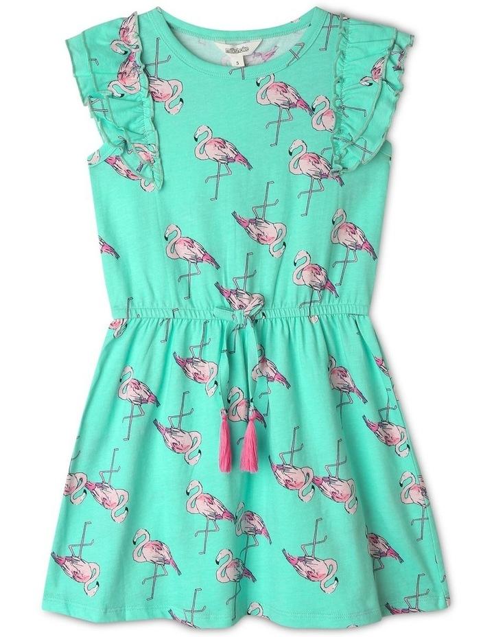 Double Flutter Sleeve Dress image 1