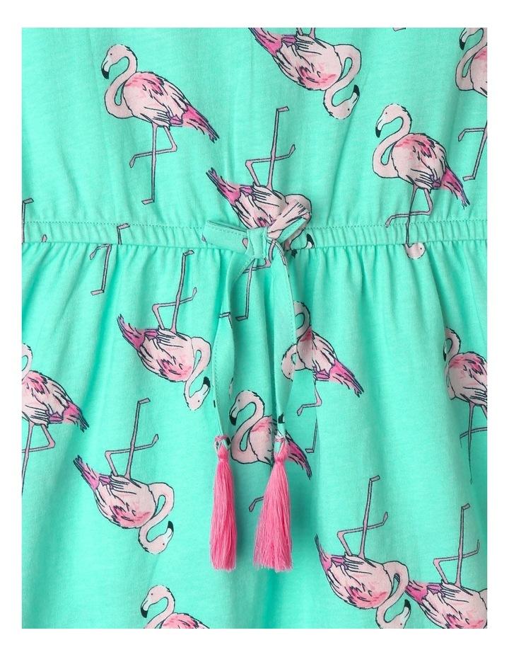 Double Flutter Sleeve Dress image 3