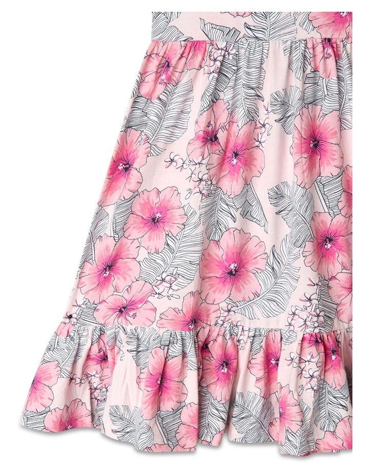 Babydoll Dress with Gathered Skirt image 4