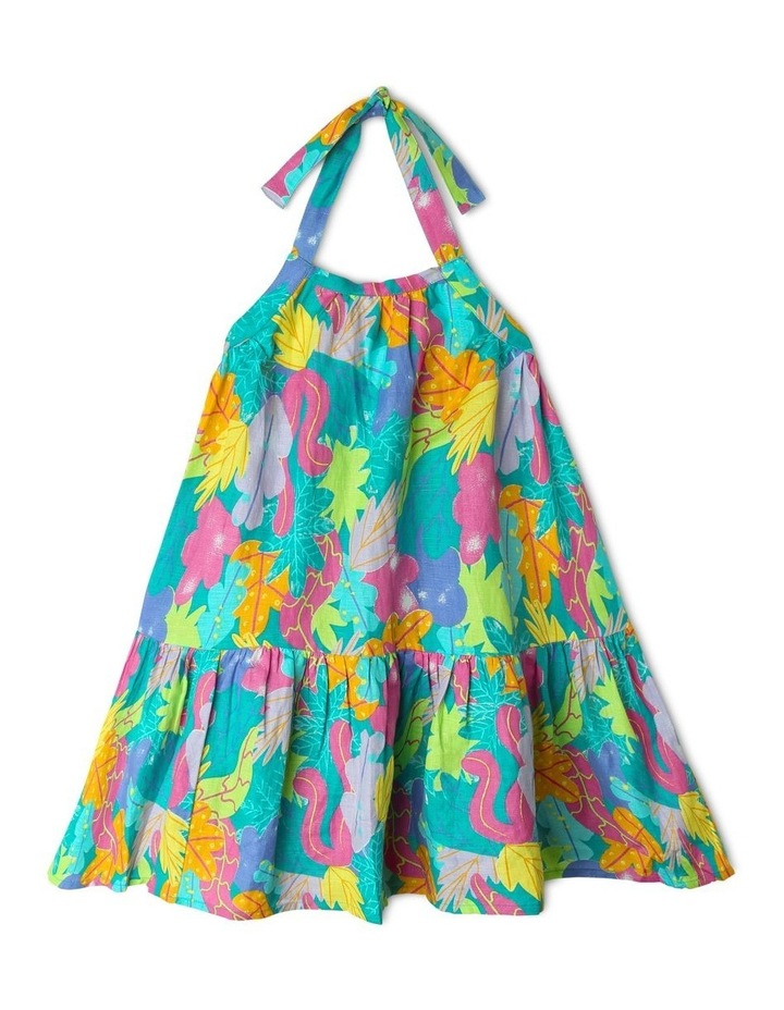 Woven Halter Neck Dress image 1