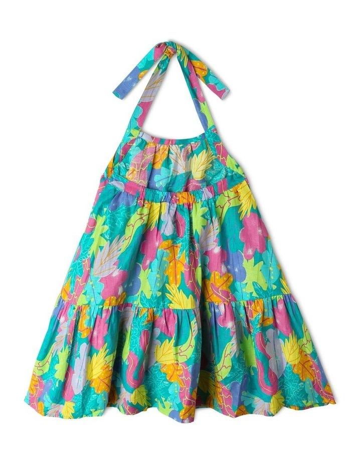 Woven Halter Neck Dress image 2