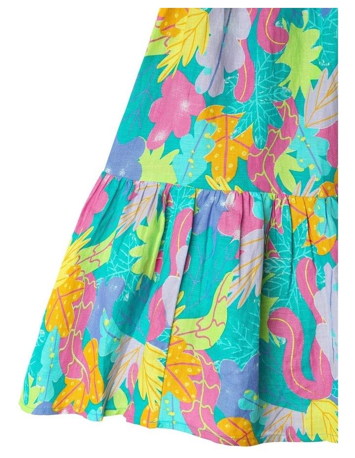 Woven Halter Neck Dress image 4