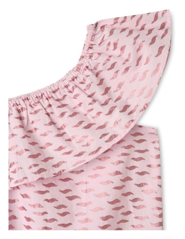 Woven Asymetric A-Line Dress image 2