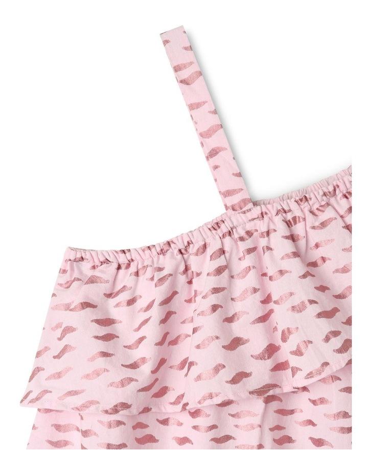 Woven Asymetric A-Line Dress image 3