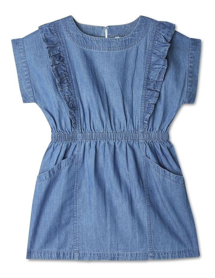 Extended Shoulder Dress image 1