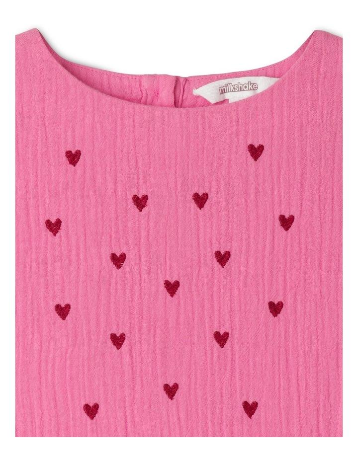 Woven Long Sleeve Drop Waist Dress image 3