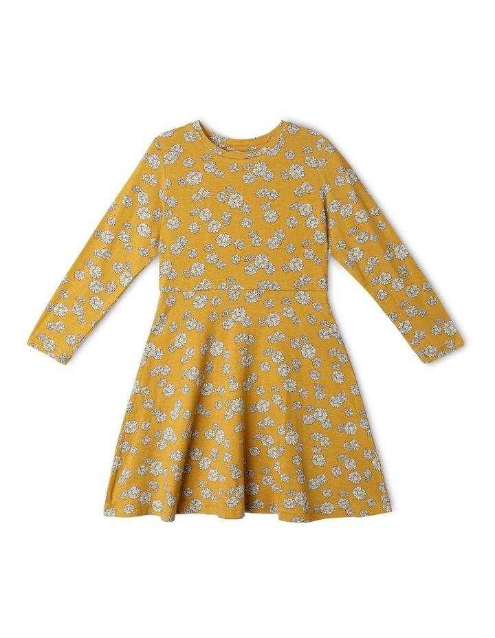 Knit Viscose Skater Dress image 1