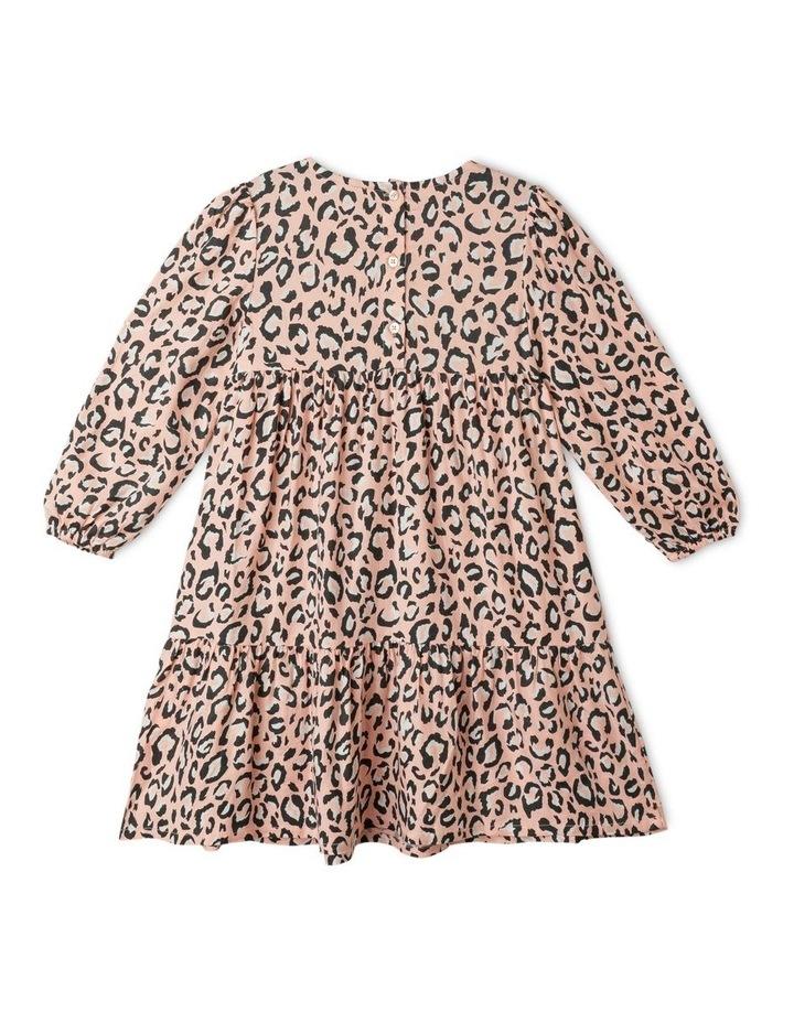 Woven Long Sleeve Multi Tier Dress image 5