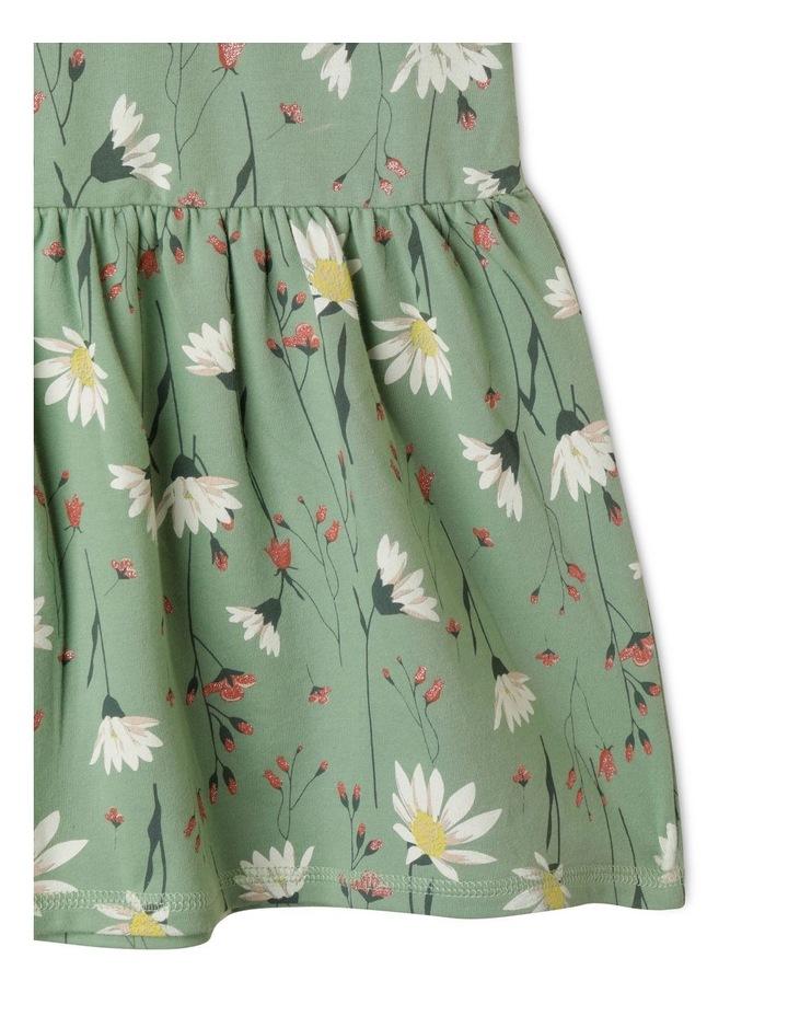 Raglan Drop Waist French Terry Dress image 4