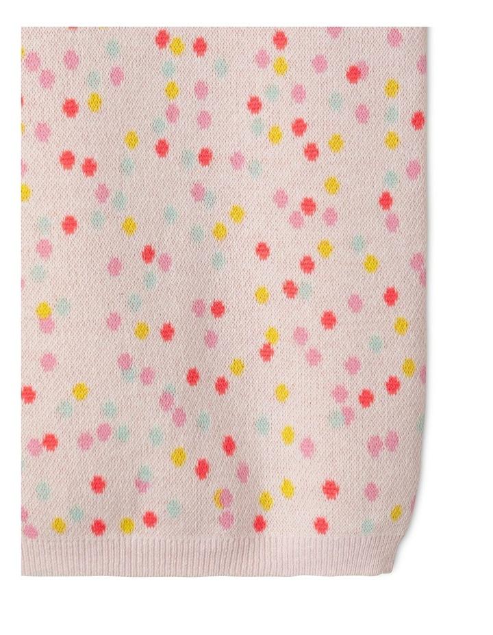 Lurex Knit Dress With Bishop Sleeve image 4