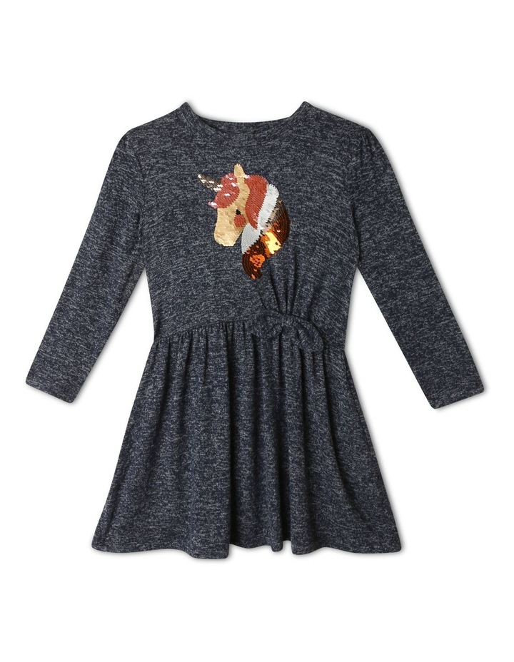 Tie Front Unicorn Dress image 1