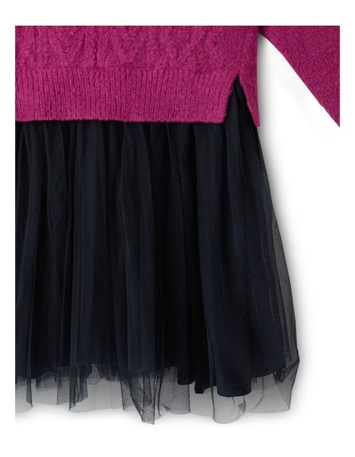 Knitted Dress With Tutu Skirt image 4