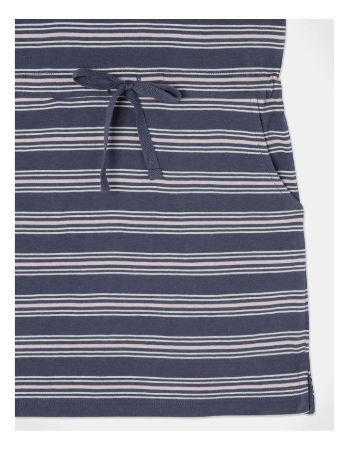 Knit Stripe Flutter Sleeve Dress image 6