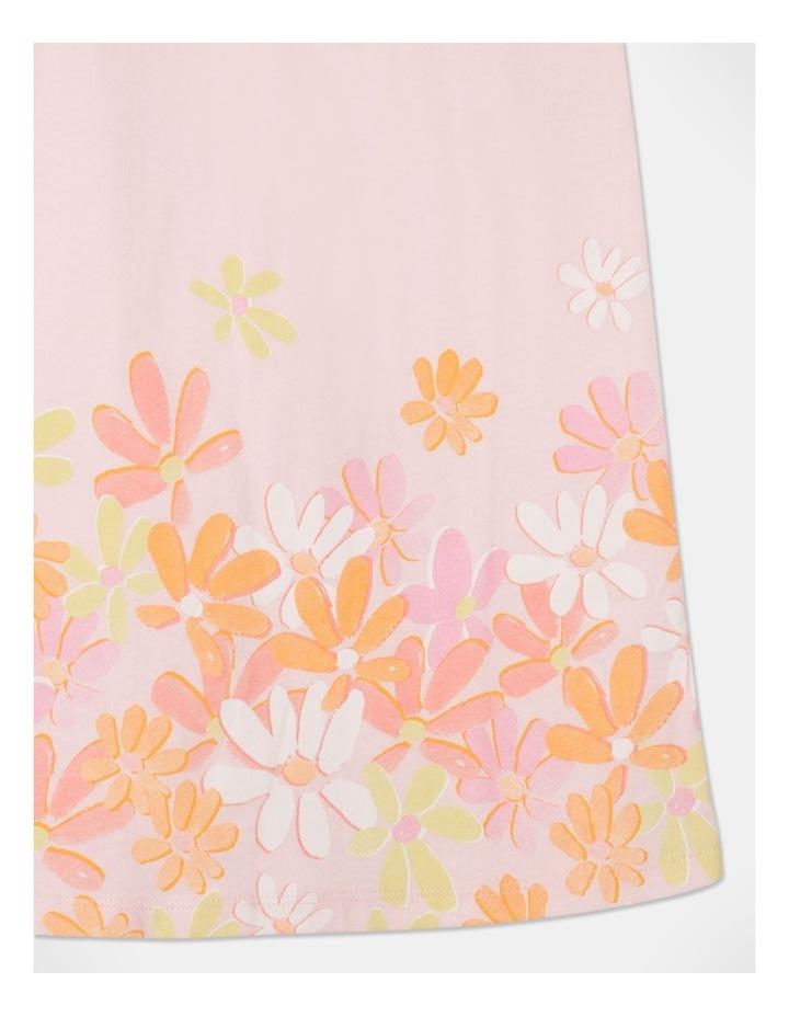 Knit Flutter Sleeve A-Line Dress image 4