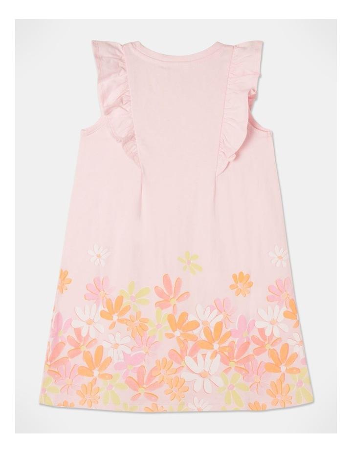 Knit Flutter Sleeve A-Line Dress image 5