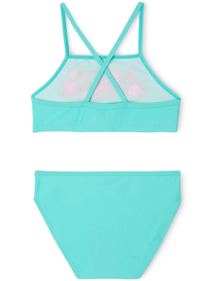Two Piece Bikini With Embroidery - Chlorine Resistant image 2