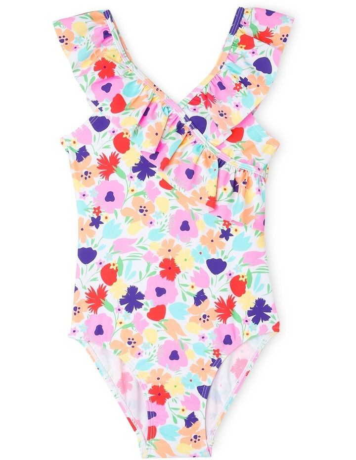 Frill One Piece Bather - Chlorine Resistant image 1