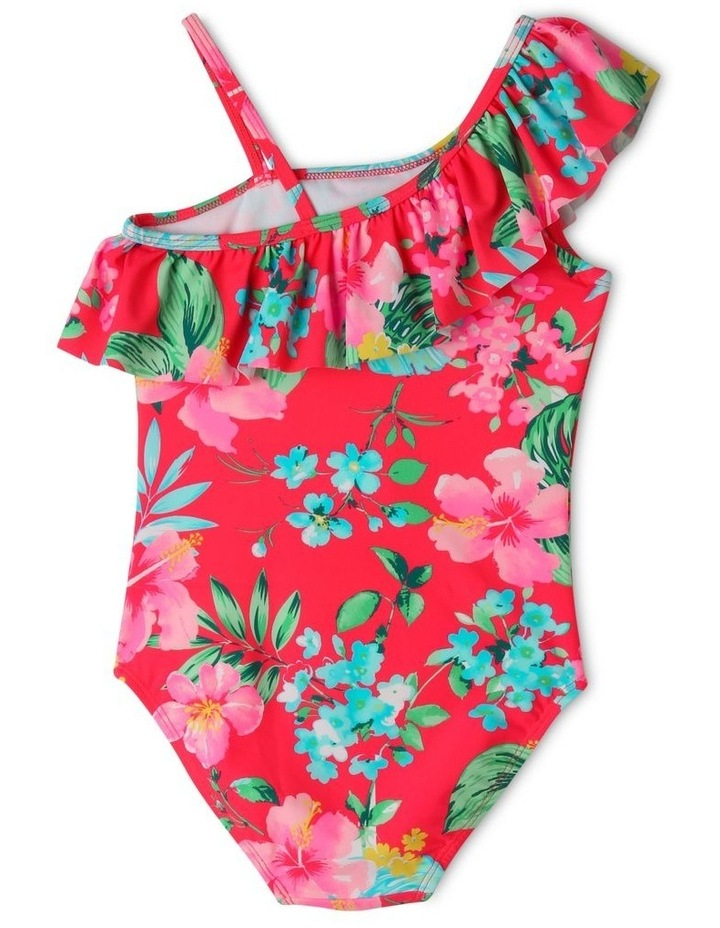 One Shoulder Frill One Piece Bather image 2