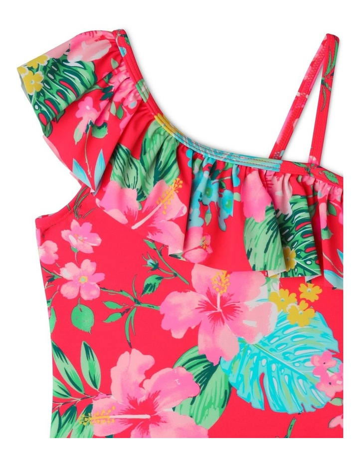 One Shoulder Frill One Piece Bather image 3