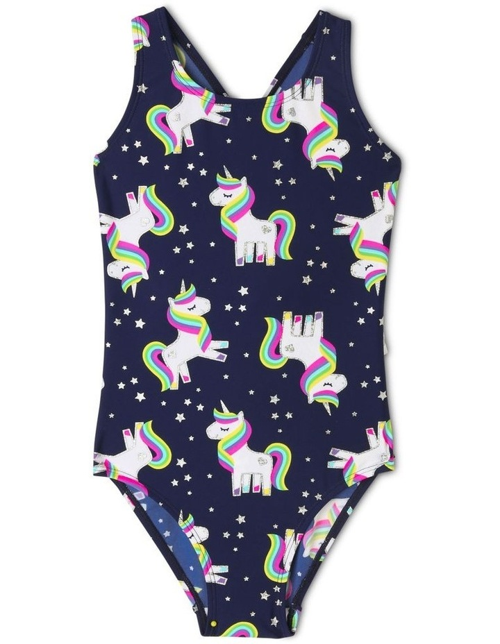 One Piece Bather with Ruffle Bum image 1