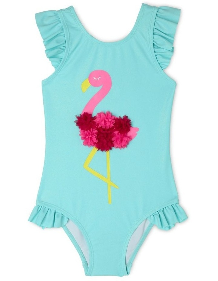 One Piece Bather With Double Frill Bottom image 1