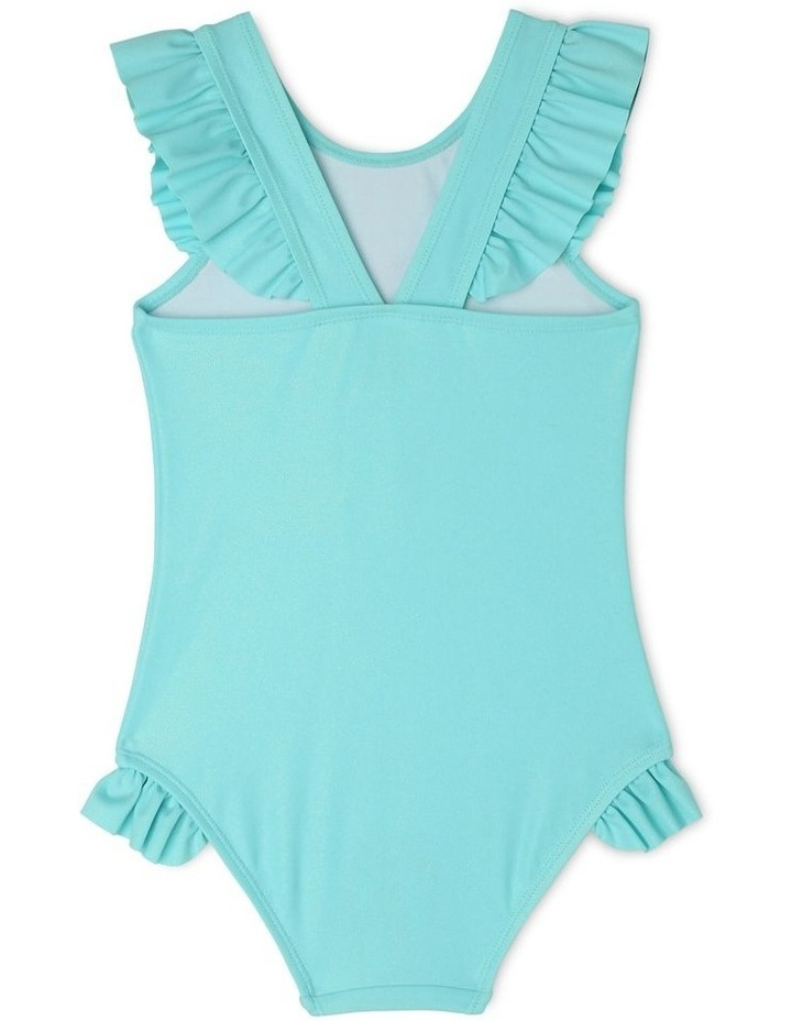 One Piece Bather With Double Frill Bottom image 2