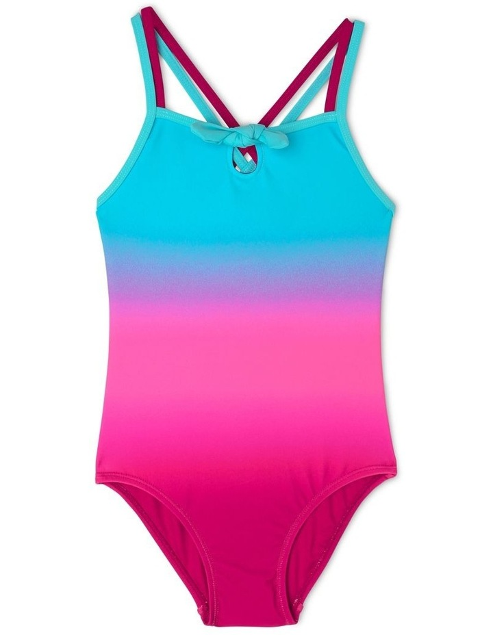 One Piece Bather With Tie Front image 1