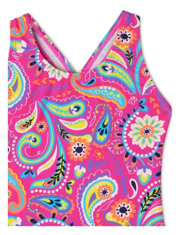 One Piece Bather With Ruffle Bum - Chlorine Resistant image 3