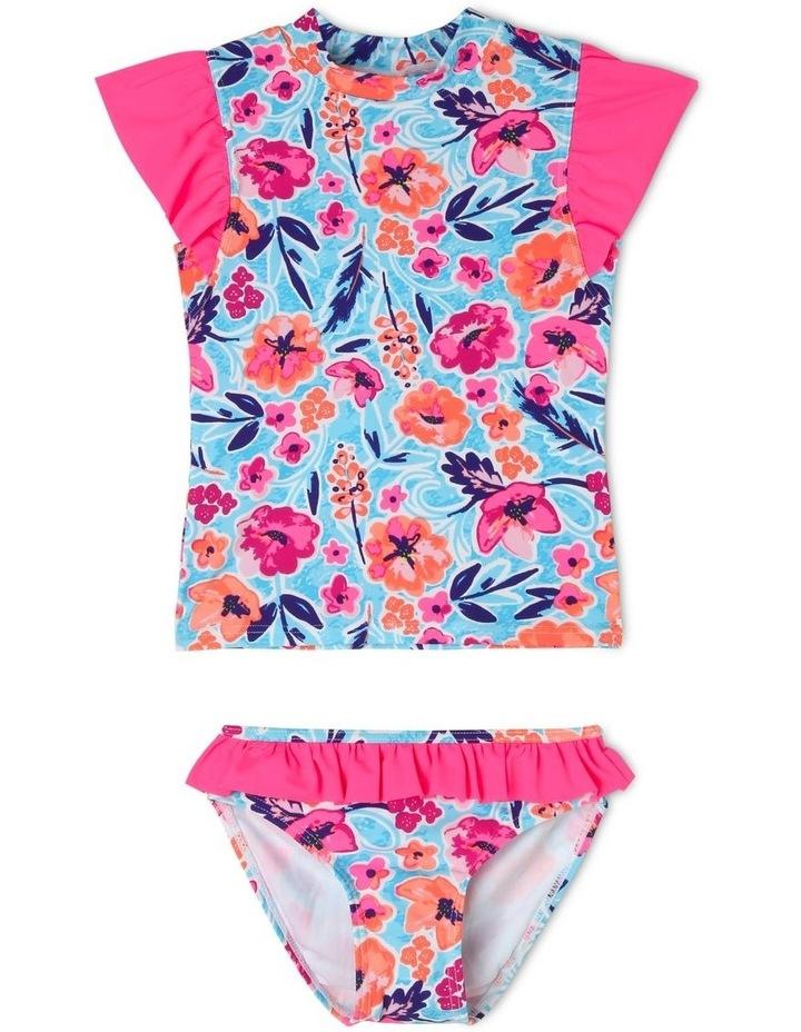 Flutter Sleeve Rash-Vest Set image 1