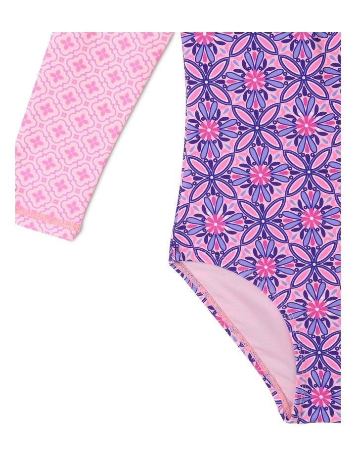 Long-Sleeve One-Piece Swimsuit image 2