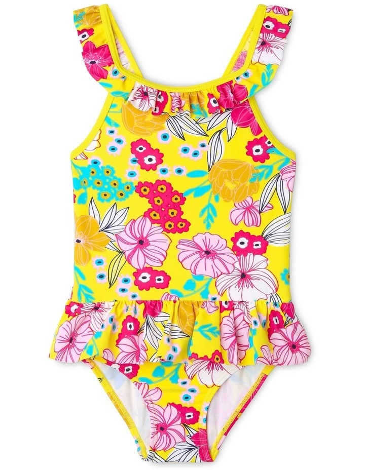 Frill Neck One Piece Bather image 1