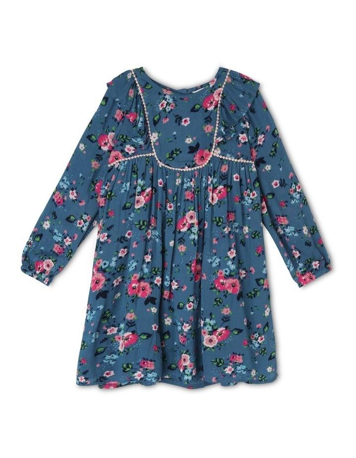 Long Sleeve Woven Dress image 1