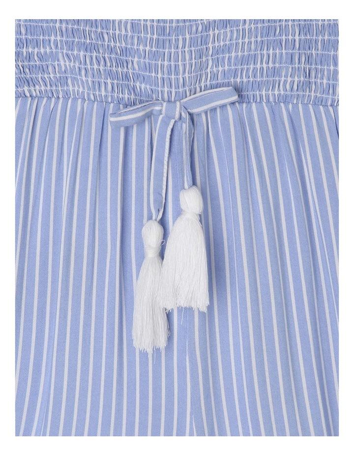 Woven Shirred Bodice Jumpsuit image 3