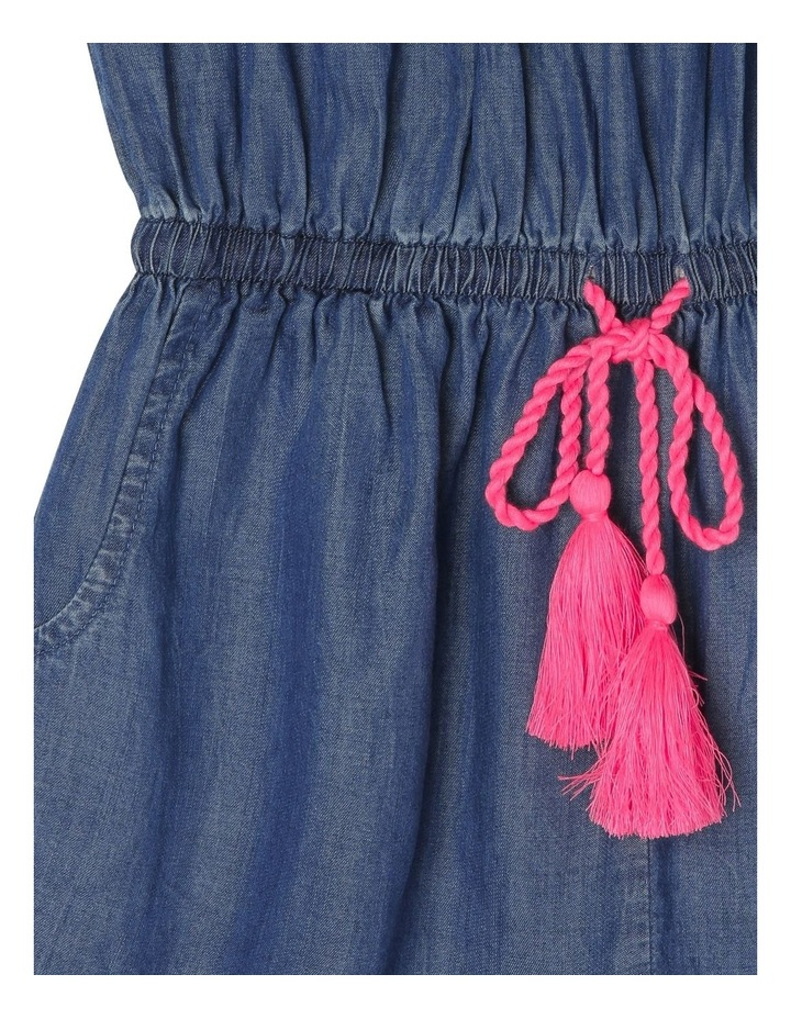 Woven Frill Neck Playsuit image 3