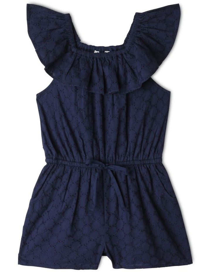 Woven Broderie Playsuit image 1