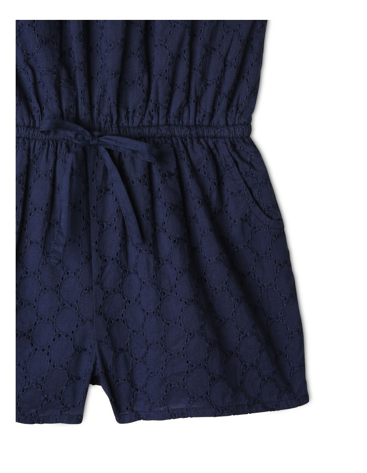 Woven Broderie Playsuit image 3