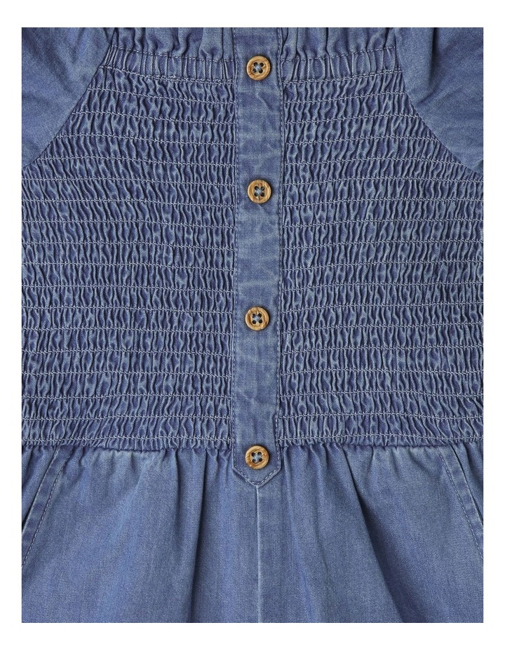 Woven Puff-Sleeve Playsuit image 3