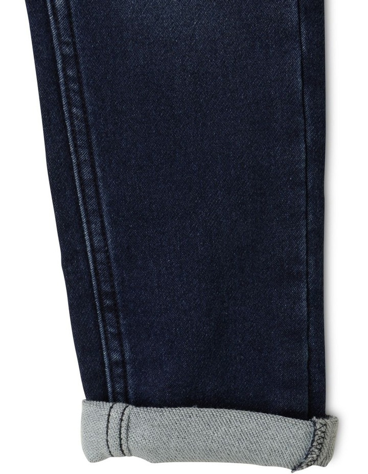 Denim Ruffle Strap Dungaree image 6