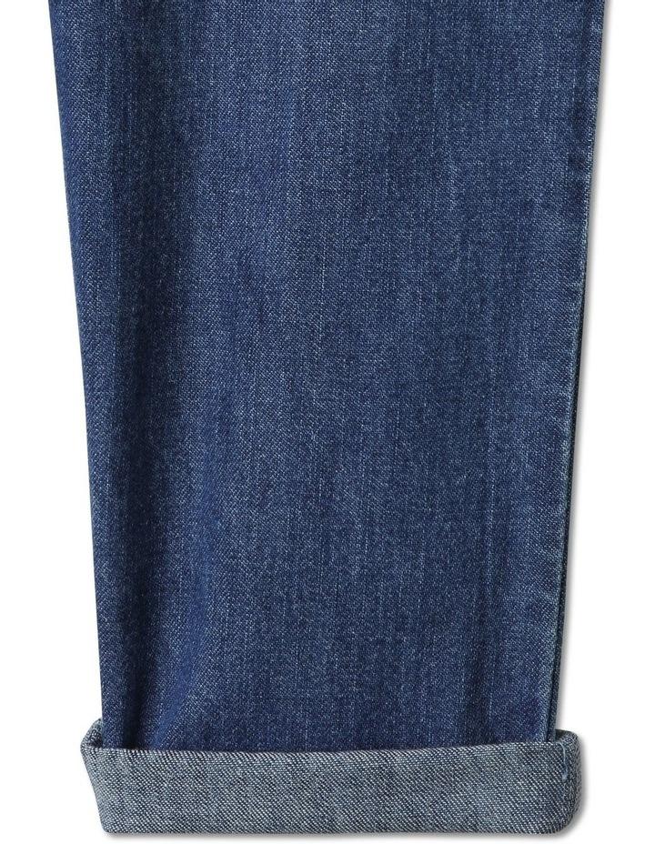 Ruffle Boilersuit Denim image 7