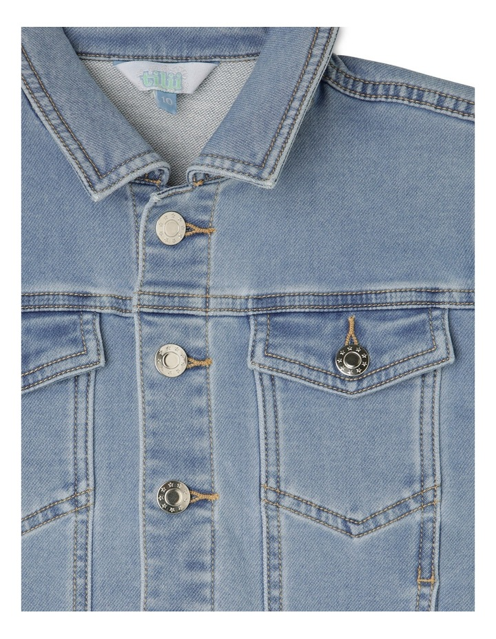 DENIM TRUCKER JACKET image 2