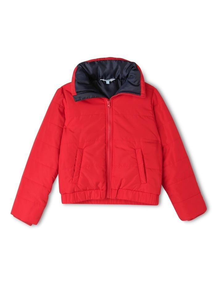 Colour Block Puffer Jacket image 1