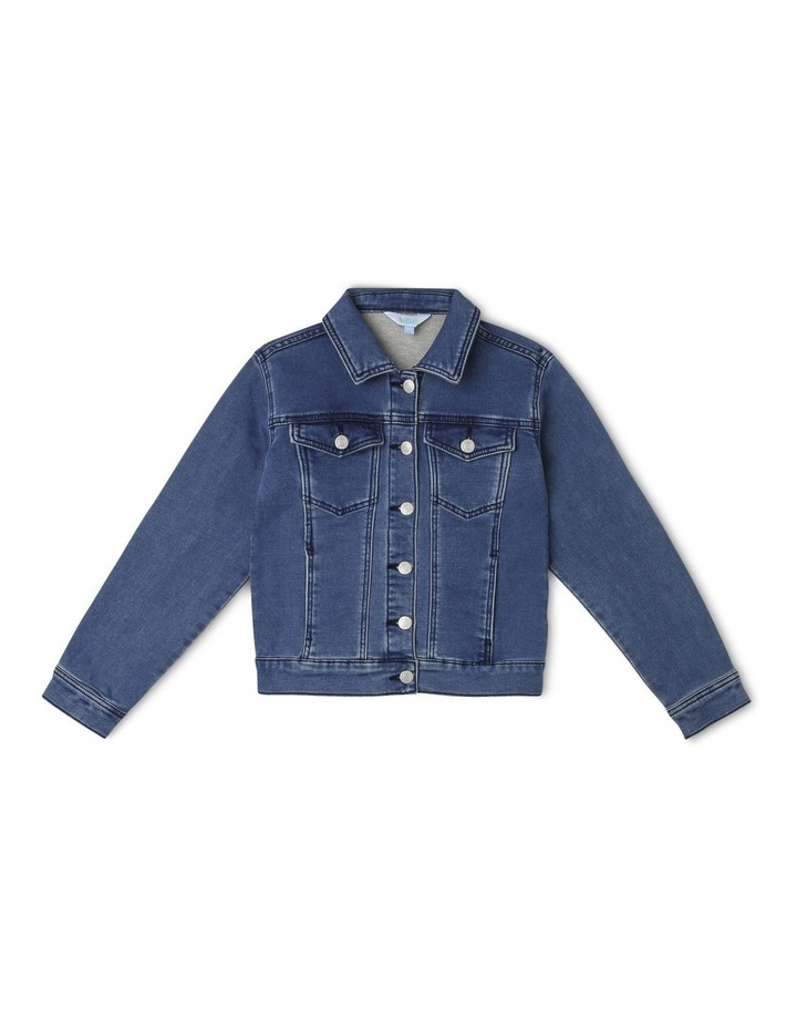 Knit Denim Jacket image 1