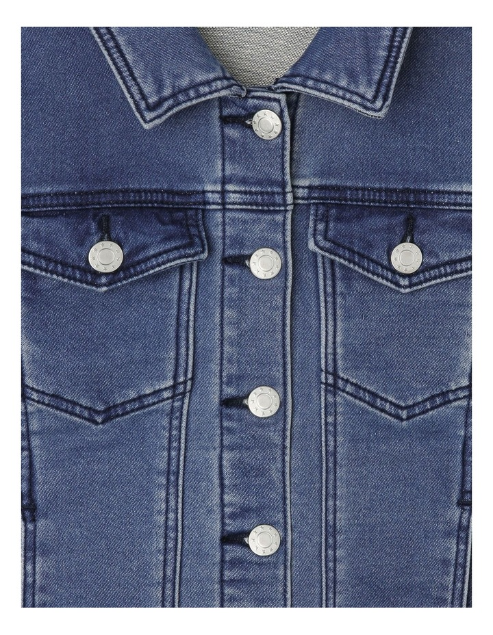 Knit Denim Jacket image 2